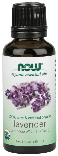 NOW Organic Lavender Oil is steam-distilled to retain high concentrations of Lavandula officinalis spp..